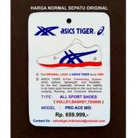 Terlaris Sepatu Asics Tiger Volley Volly Voli Proh Ace Mid (Middle