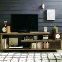 Tv Cabinet / Rak Tv Minimalis / Kayu Jati Belanda Endrawati00