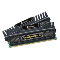 Corsair DDR3 Vengeance Black PC12800 8GB (2X4GB) CMZ8GX3M2A1600C9