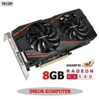 Limit edition VGA GIGABYTE AMD Radeon RX 580 Gaming 8GB Diskon