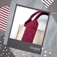 Customized Baby Bag - tas kanvas insial model marhen j custom