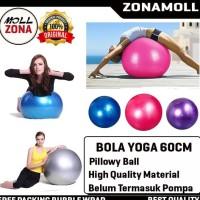 Bola Yoga 60CM Gym Ball Balon Fitness Olahraga Senam Ibu Hamil - Pilih
