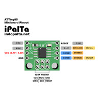 ATTiny85 Minimum System Arduino Compatible