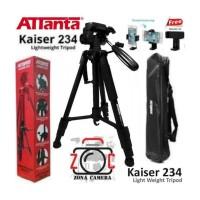 Tripod Kamera DSLR Attanta Kaiser 234 + Holder Hp + Bag