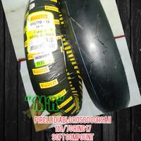 Ban pirelli Diablo rosso Corsa 2 110/70 Ring 17 BALAP Soft compount