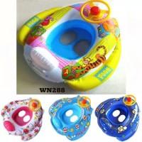 pelampung setir motif anak balita bayi baby swimming ban kolam renang
