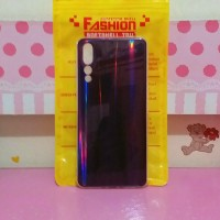 Huawei p20 pro aurora shining silicone soft case