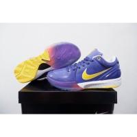 sepatu basket nike kobe 4 protro purple lakers grade original
