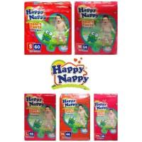 Happy Nappy S60/ M54/ L48/ XL44/ XXL36 Pants Celana Diaper Jumbo Pack
