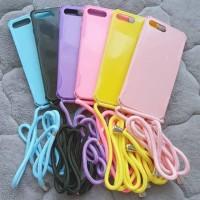 0408 Ldcase Iphone 7+ 8+ 7 8 plus lanyard sling case anticrack paste