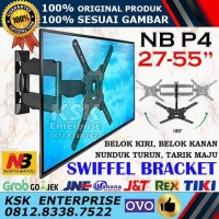 Breket Bracket Brecket TV LCD LED mount NB P4 North Bayou