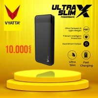 VYATTA ULTRA SLIM X POWER BANK TYPE C Input, DUAL, 2A FAST CHARGE