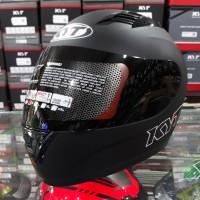 Helm Full Face KYT R10 Solid Black Doff