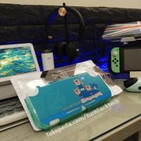 Case / Casing Nintendo Switch Lite Animal Crossing City Wolf - Green