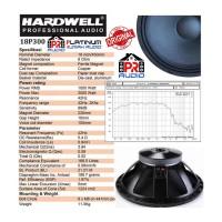 SPEAKER COMPONENT HARDWELL 18P300 / 18 P300 ORIGINAL 18 inch !!!