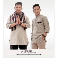Baju Koko Muslim Pria Trend- GRN 105