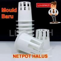 Netpot Hidroponik 5cm LUBANG JARING PUTIH Hydroponic Net Pot Murah