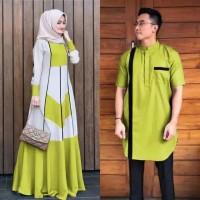 Baju Couple Cowok Cewek Pakaian Copel Pria Gamis Wanita fashion muslim