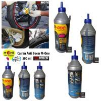 Cairan ban tubles (anti bocor) merk M-ONE 500ML / Untuk melindungi ban