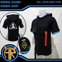 Rhodes Island Hoodie Shirt - Kaos Anime Game Arknights