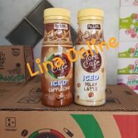 Tora Cafe Coffee 180ml Minuman rasa kopi Iced Cappuccino   Milky Latte