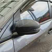 Cover spion carbon matte depan mirror honda all new BRIO RS