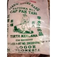 Sagu Tani Asli merk Cap Pak Tani 1kg Liauw Tjoei Kang / Tepung Tapioka