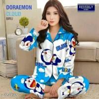 baju tidur wnita/piyama 8-blue