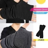 TERLARIS Assassin gloves - Hitam TERLENGKAP