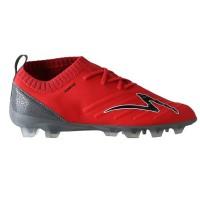 Sepatu sepak bola specs swervo galactica fg-emperor red/dark cool