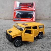 Diecast Mobil Hummer Alloy - Miniatur Car Jeep Koleksi Mainan Anak