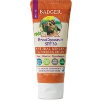 Badger - SPF 30 Kids Sunscreen Cream with Zinc Oxide for Face and Body