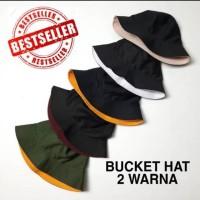 Topi bucket /topi baket / bucket hat fisherman hat / topi mancing /