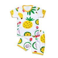 Skabe Baju Anak Laki Laki Fruits Kaos Baby Putih Usia 3-4 Bulan 3215