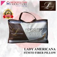 Bantal LADY AMERICANA Femto Fiber Pillow Ori / Microfiber (1 pcs)