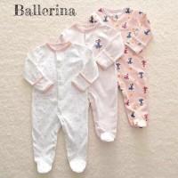 Mamas Papas Sleepsuit Set 3 in 1 Motif Ballerina