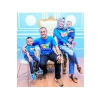 GRATIS NAMA Kaos / Baju Couple Keluarga Ulang Tahun Ayah Ibu Anak