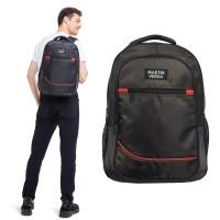 Martinversa TP6 Tas Ransel Backpack Polo Pria Laptop USB Charger Nylon