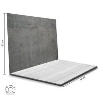 Alas Foto Lipat Wood Cement 42x30cm / Background Fotografi (MIL-02)