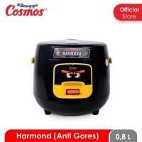 Cosmos Harmond CRJ-6601 - Rice Cooker 0.8 L (Black/White)