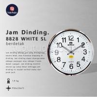 Jam Dinding Mirado MQ 8828 WH/SL