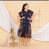 dress tenun ikat troso ethnic jepara motif bisa pilih D12