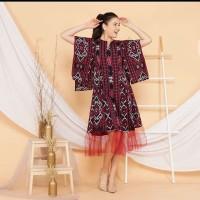 dress tenun ikat troso ethnic jepara motif bisa pilih D13