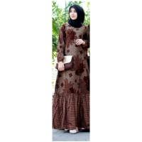 Gamis batik full katun original batik jameet pekalongan