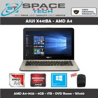 ASUS X441BA - AMD A4-9125 - 4GB - 1TB - Radoen R5 - 14 - Win10