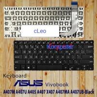 lKeyboard asus vivobook A407 A407M A407U A405 X407 A407MA A407UB hitam