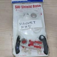 Base Plate Arai RX7 RR5 Ratchet Dudukan Visor