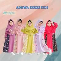 Gamis anak syari balita 2 3 4 5 6 tahun Baju muslim anak perempuan