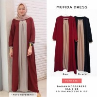 Dress Muslim Wanita Mufida Maxi
