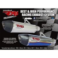 Laris Knalpot Racing Rx8 Orisinil Yamaha New Vixion Berkualitas